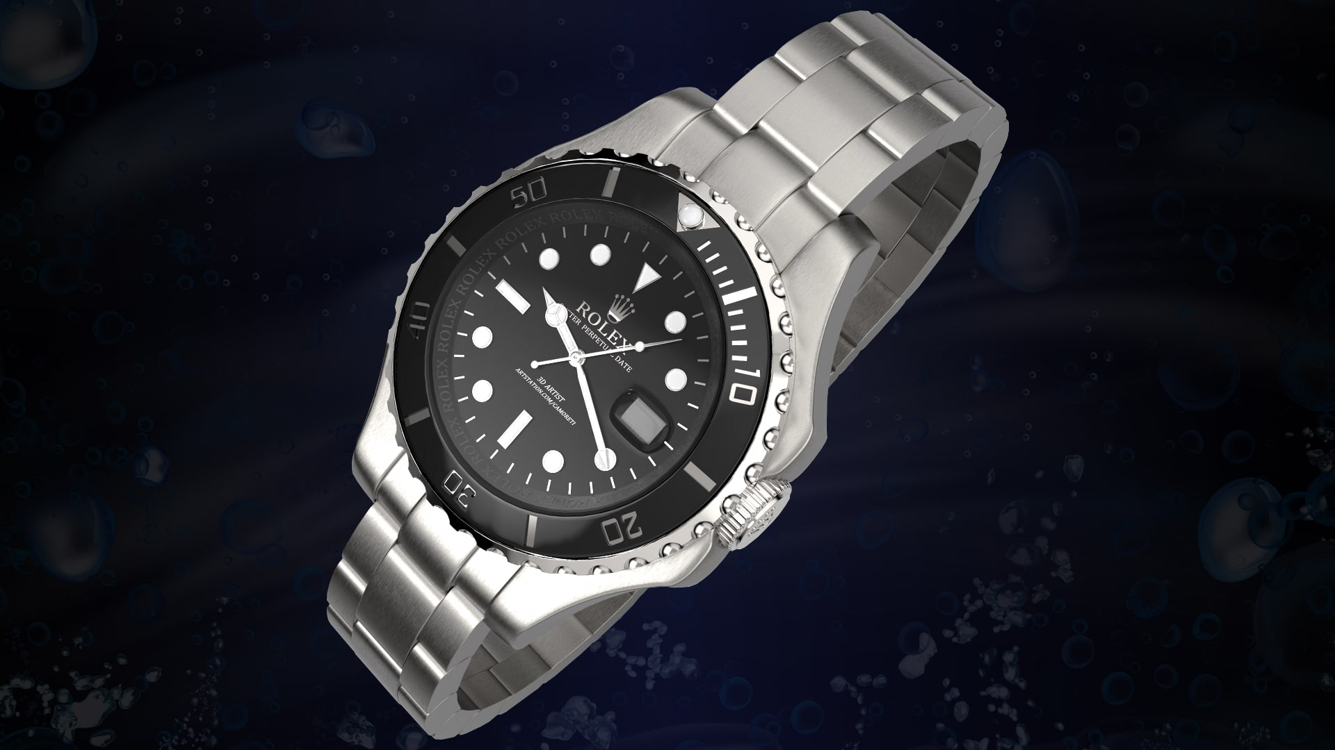 RENDER reloj agencia marketing digital